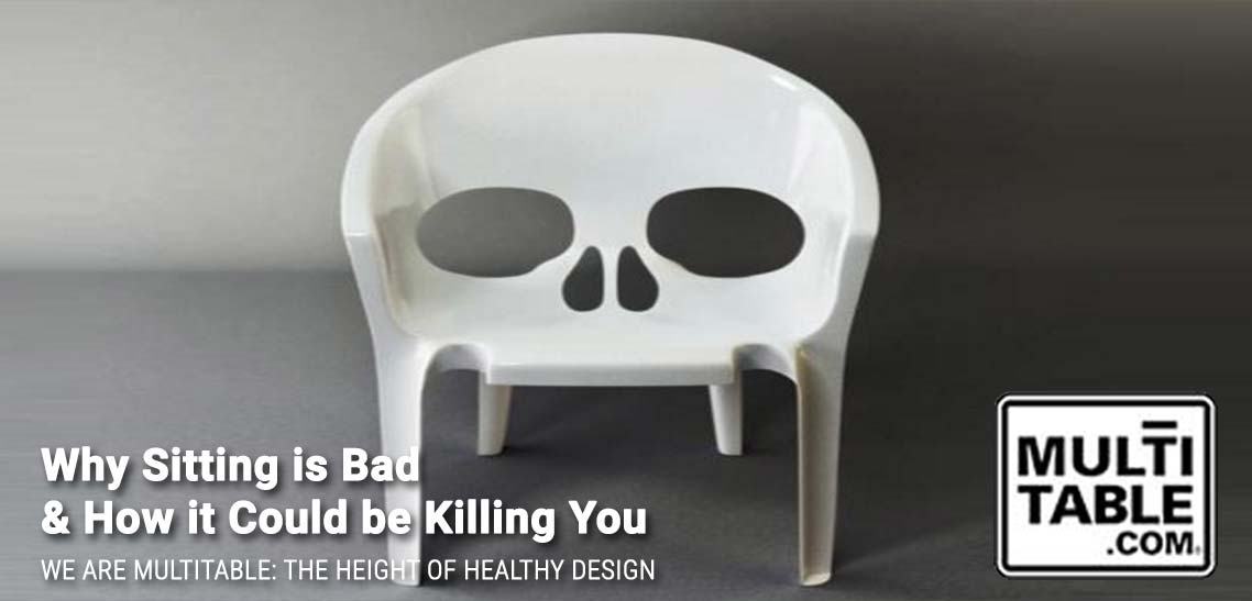 Why Sitting Is Bad How It Could Be Killing You MultiTable The Standing Desk Experts