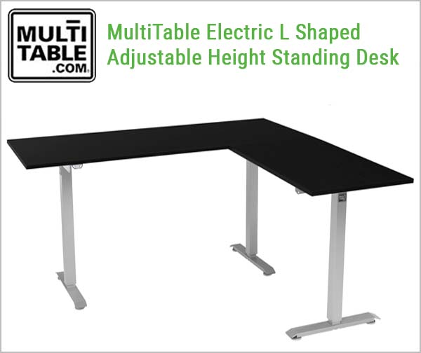Standing L Shaped Desk Desk Design Ideas