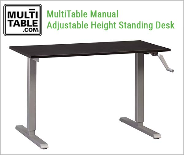 Standing Desk Manual MultiTable