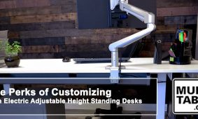 The Perks Of Customizing With Electric Adjustable Height Standing Desks MultiTable