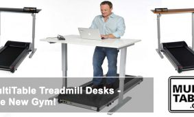MultiTable Treadmill Desks The New Gym