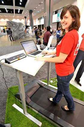 MultiTable Treadmill Desks