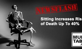 Newsflash Sitting Increases Risk Of Death Up To 40 Percent MultiTable