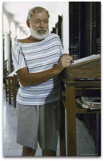 Ernest Hemingway Famous Advocate Of Standing Desks MultiTable