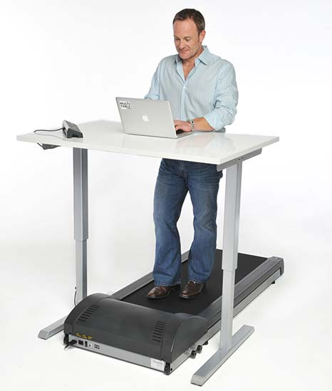 Hate The Gym Try Plan B Treadmill Desks By MultiTable Standing Desk Experts