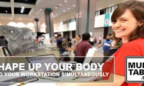 Shape Up Your Body And Your Workstation Simultaneously MultiTable