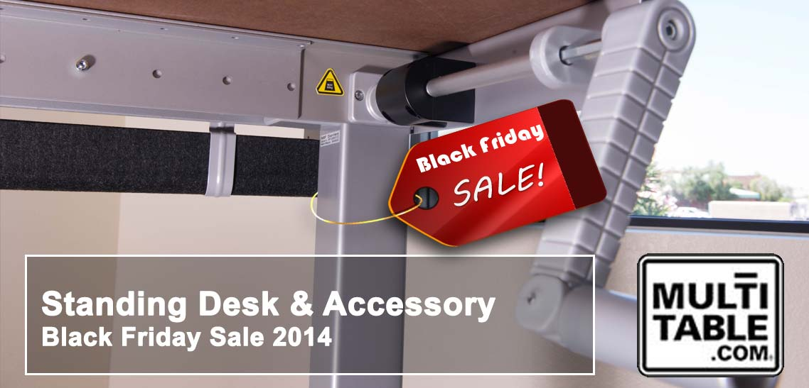 Standing Desk Standing Desk Accessory Black Friday Sale 2014 MultiTable
