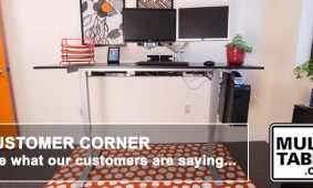 Standing Desk Height Adjustable Desks Customer Reviews MultiTable