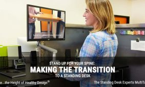 Standing Desk Making The Transition To A Standing Desk MultiTable Article