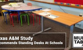 Texas AM Study Recommends Standing Desks At Schools