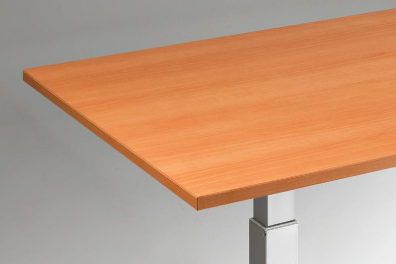 Standing Desk Top Natural Pear