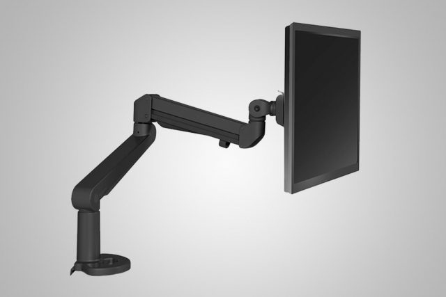 Single Monitor Arm Black MultiTable
