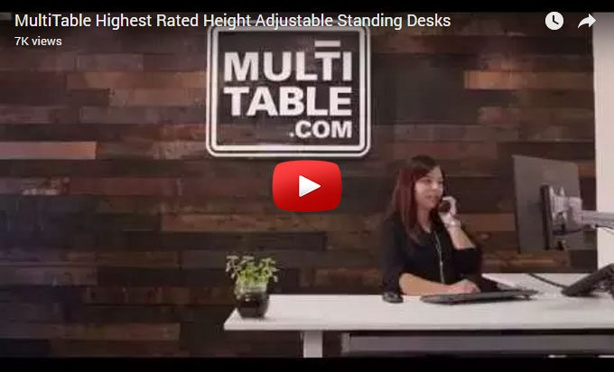 Standing Desk Store Video MultiTable