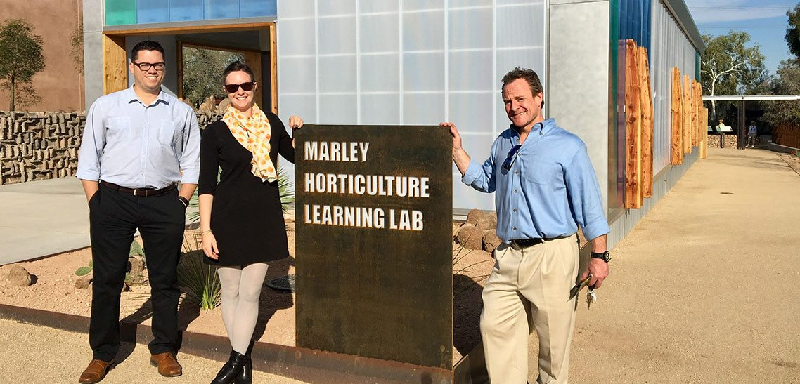 Multitable Customizes Tables For New Desert Botanical Garden Learning Center Phoenix
