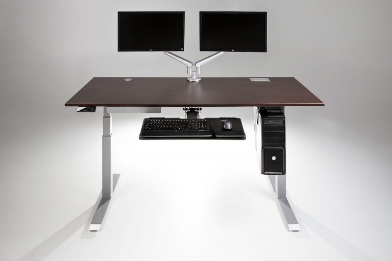 The ModDesk Pro Standing Desk With Accessories