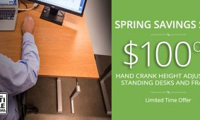Standing Desk Spring Sale MultiTable Height Adjustable Standing Desks Blog Post