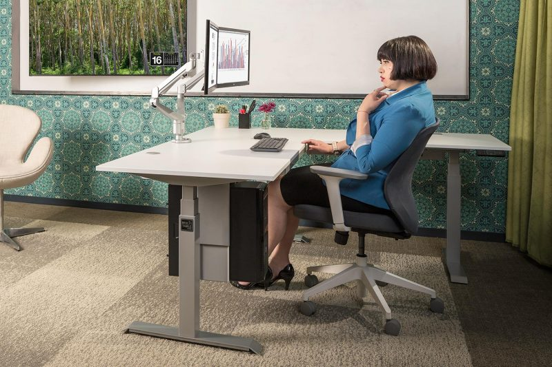 ModDesk Pro L Shaped Corner Standing Desk 03