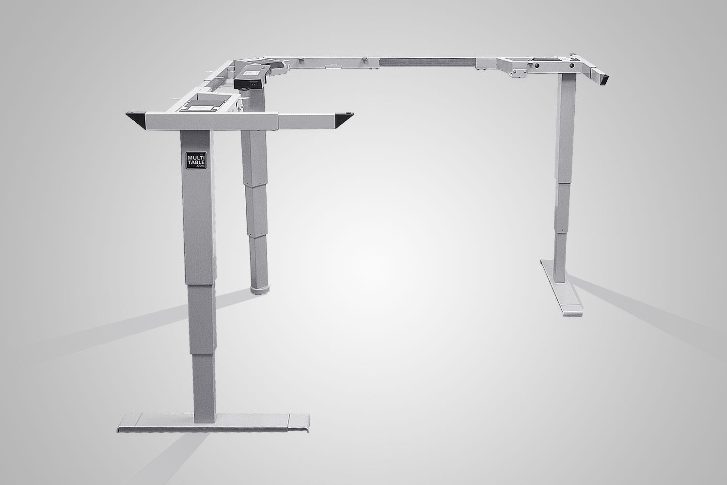 MultiTable L-Shaped Standing Desk Frame