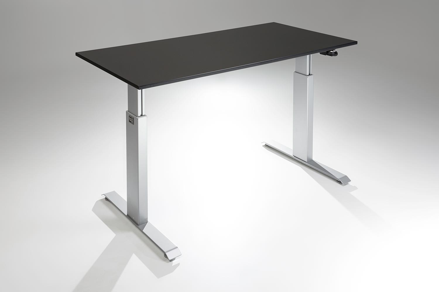 flextable height adjustable standing desk multitable. Black Bedroom Furniture Sets. Home Design Ideas