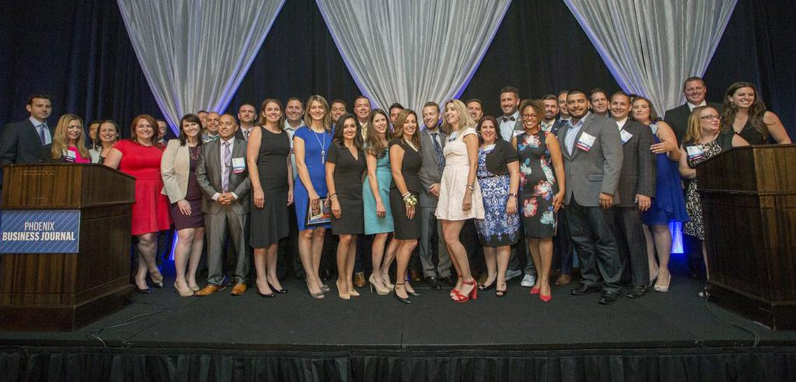 MultiTable Helps Honor 40 Under 40 Phoenix Business Journal Awards 2017