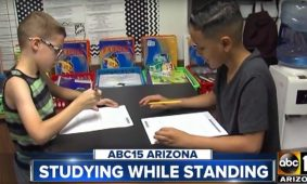 MultiTable Standing Desks Help Students In The Classroom