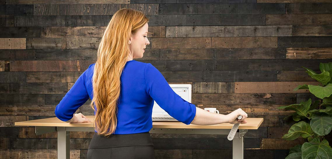 2018 Trends Height Adjustable Sit Stand Desks MultiTable