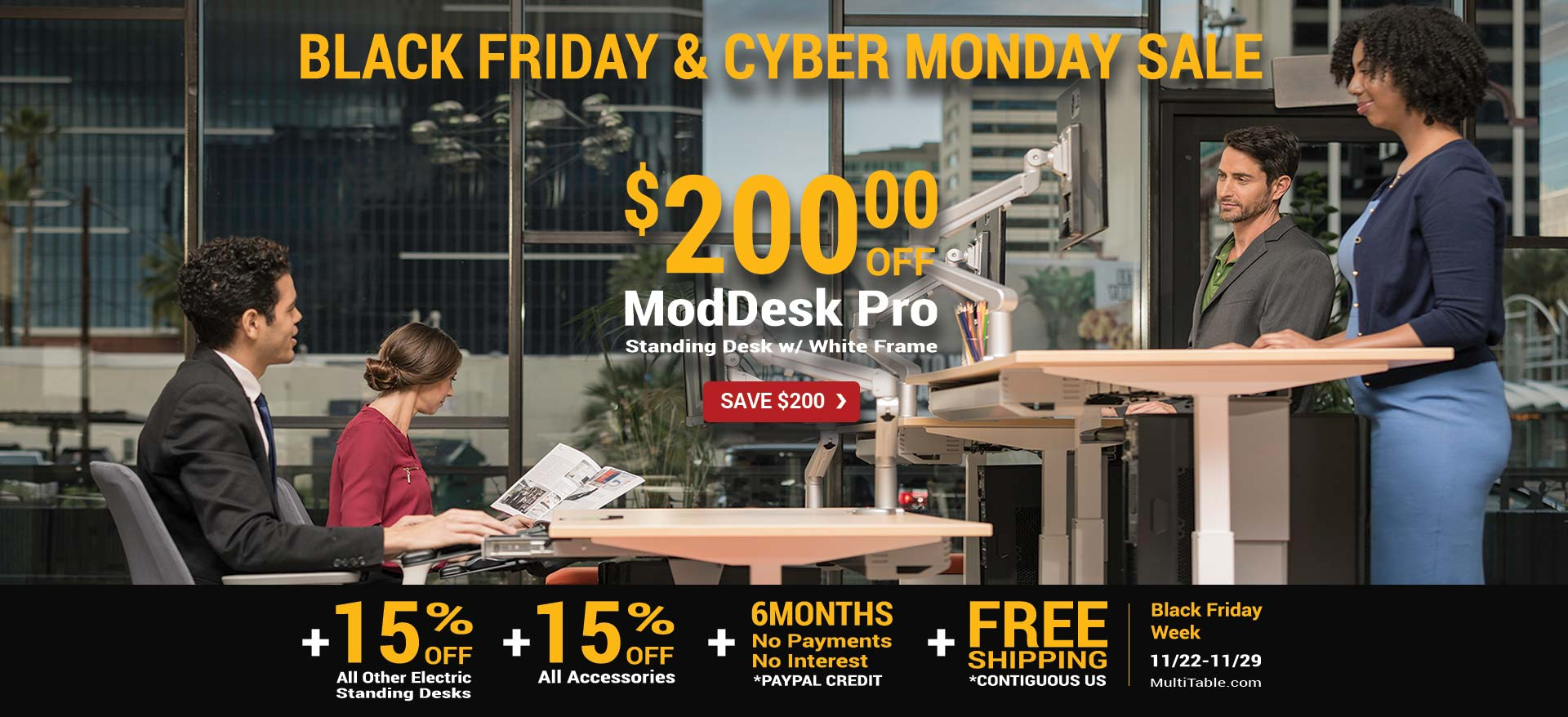 Best Standing Desk Black Friday Cyber Monday 2017 MultiTable Home Final