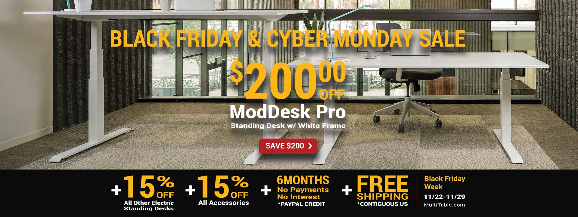 Best Standing Desk Black Friday Cyber Monday 2017 MultiTable Home Products