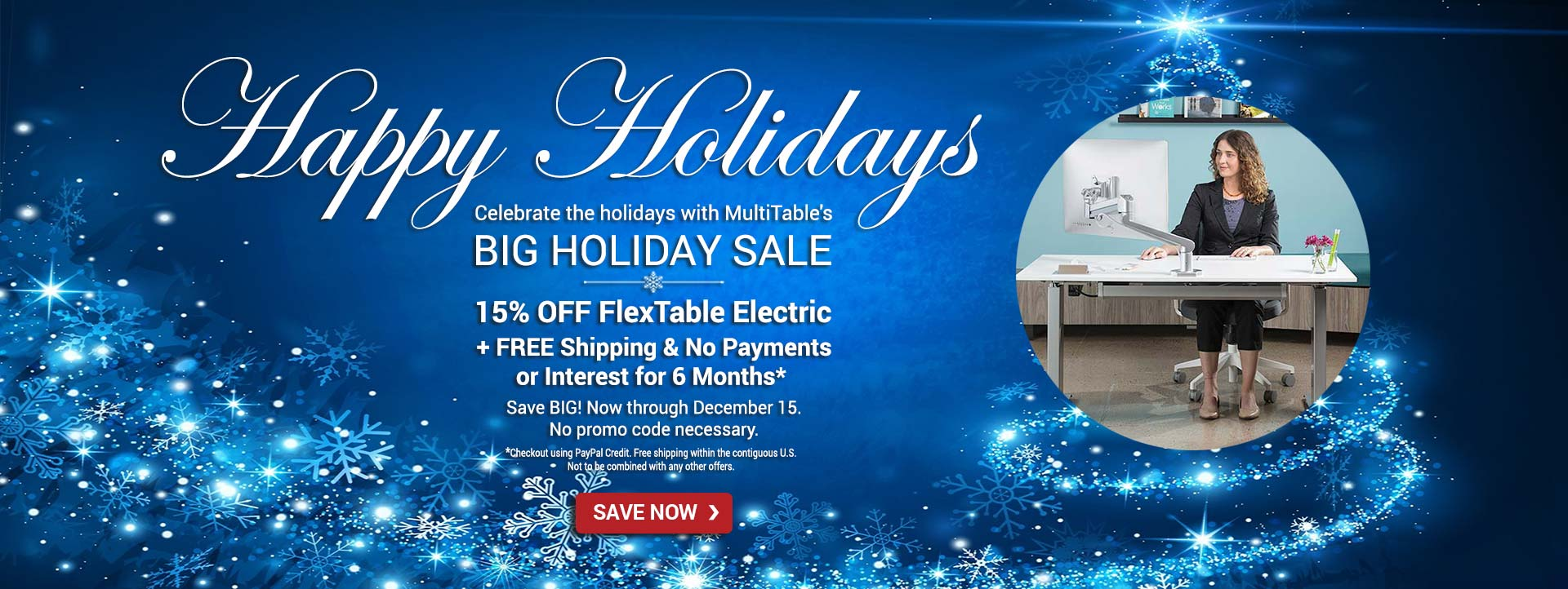 Standing Desk Holiday Sale MultiTable 2017 Final Products
