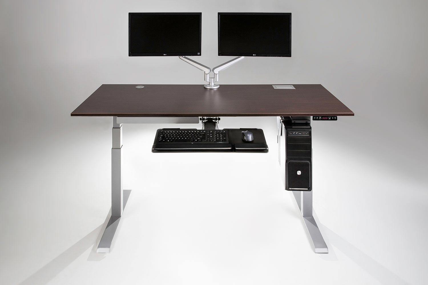 The Mod E Pro 2 Step Electric Standing Desk Multitable