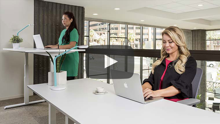 Mod E Pro Height Adjustable Standing Desk Video