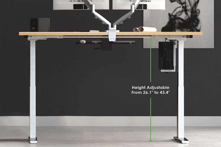 Mod E2 Height Adjustable Standing Desk Sm MultiTable Phoenix