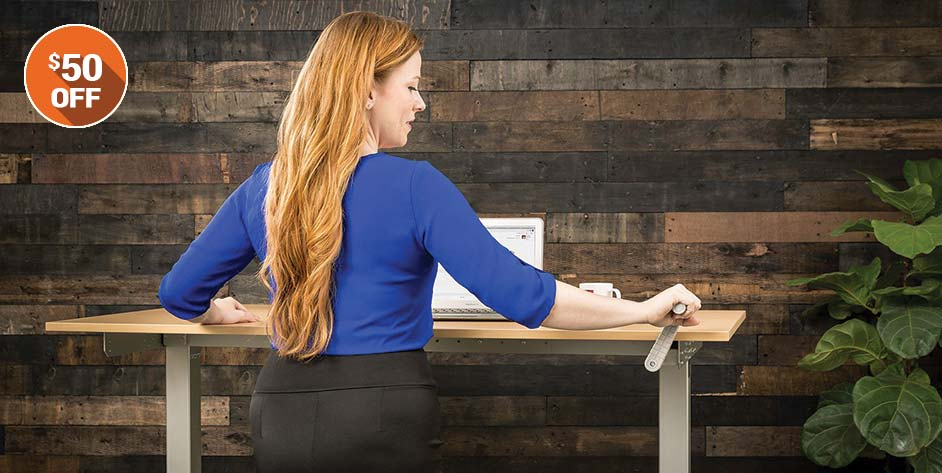 Standing Desk Sale Hand Crank MultiTable
