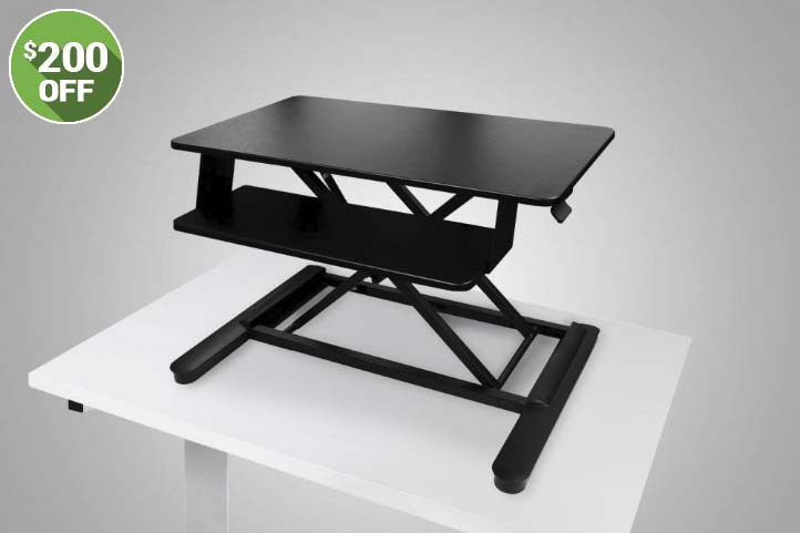 Adjustable Height Standing Desk Converter Sale 2018