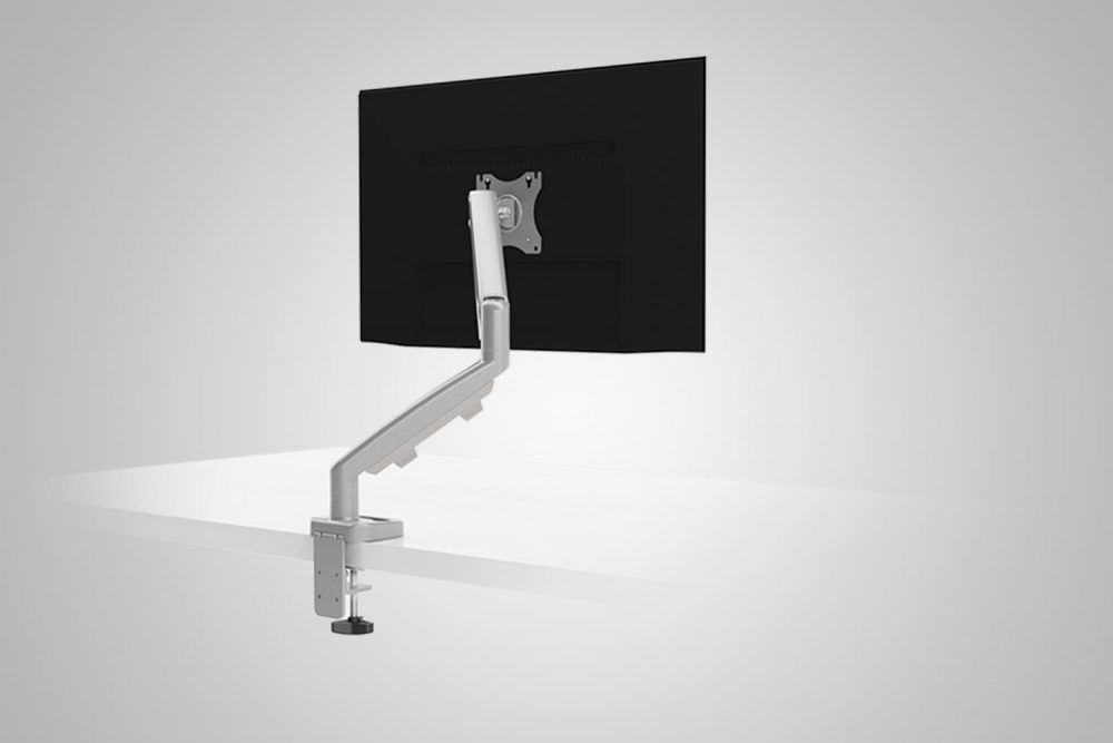 MultiTable Single Ergo Silver Monitor Arm